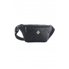 Belt Bag Lovely Handmade Camelia Remvi   Black - 11CA-C-13