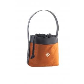 Τσάντα Χειρός Lovely Handmade Emilia S Velvet Bag | Copper - 11EMI-SVE-15