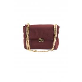 Τσάντα Ώμου Lovely Handmade Milena Velvet Bag | Bordeaux - 11MI-VE-14
