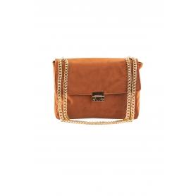 Τσάντα Ώμου Lovely Handmade Milena Velvet Bag | Copper - 11MI-VE-15
