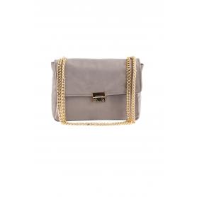 Τσάντα Ώμου Lovely Handmade Milena Velvet Bag | Grey - 11MI-VE-03