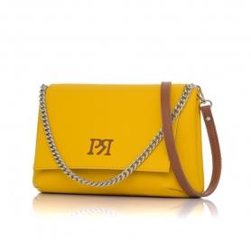 Γυναικεία τσάντα χιαστί Pierro Accessories 90614DL20 Κίτρινο