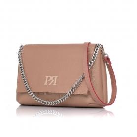 Γυναικεία τσάντα χιαστί Pierro Accessories 90614DL26 Χαλκός
