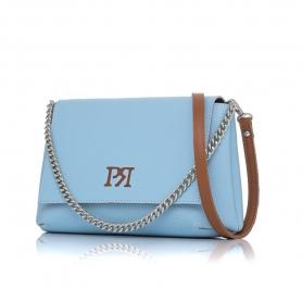 Γυναικεία τσάντα χιαστί Pierro Accessories 90614DL83 Σιελ