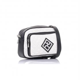 Γυναικεία τσάντα καπιτονέ χιαστί Pierro Accessories 90623KPT07 Λευκό