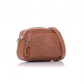 Γυναικεία τσάντα καπιτονέ χιαστί Pierro Accessories 90623KPT11 Ταμπά