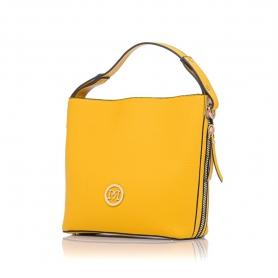 Γυναικεία τσάντα ώμου Pierro Accessories 90607DL20 Κίτρινο
