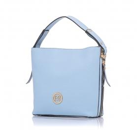Γυναικεία τσάντα ώμου Pierro Accessories 90607DL83 Σιελ