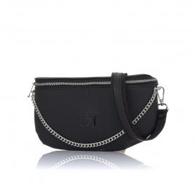Γυναικείο τσαντάκι μέσης Pierro Accessories 90616DL01 Μαύρο