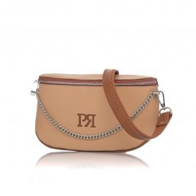 Γυναικείο τσαντάκι μέσης Pierro Accessories 90616DL09 Κάμελ