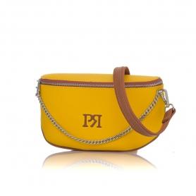 Γυναικείο τσαντάκι μέσης Pierro Accessories 90616DL20 Κίτρινο