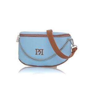 Γυναικείο τσαντάκι μέσης Pierro Accessories 90616DL83 Σιελ