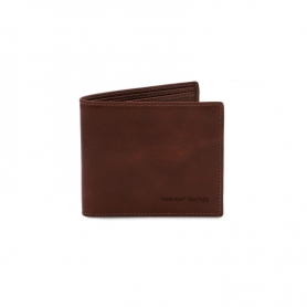 Ανδρικό Πορτοφόλι Δερμάτινο TL142056-Καφέ σκούρο