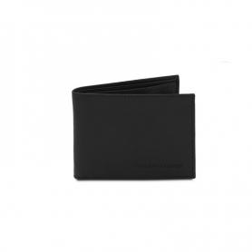 Ανδρικό Δερμάτινο Πορτοφόλι TL142074-Μαύρο