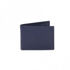 Ανδρικό Δερμάτινο Πορτοφόλι TL142074-Μπλε σκούρο