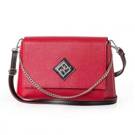 Γυναικεία Τσάντα Χιαστί Pierro Accessories 90614DL08 Κόκκινο