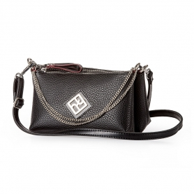Γυναικεία Τσάντα Χιαστί Pierro Accessories 90631DL01 Μαύρο