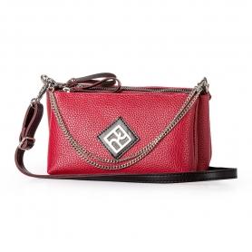 Γυναικεία Τσάντα Χιαστί Pierro Accessories 90631DL08 Κόκκινο