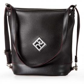 Γυναικεία Τσάντα Πλάτης - Ώμου Pierro Accessories 90650DL01 Μαύρο
