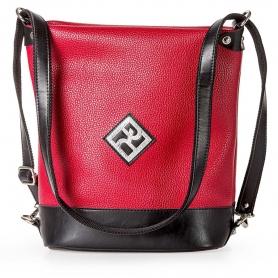 Γυναικεία Τσάντα Πλάτης - Ώμου Pierro Accessories 90650DL08 Κόκκινο