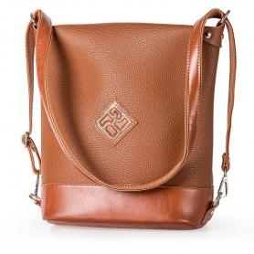 Γυναικεία Τσάντα Πλάτης - Ώμου Pierro Accessories 90650DL11 Ταμπά